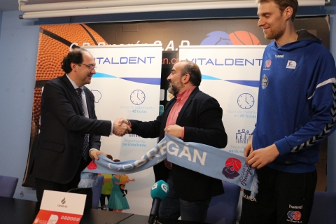 Vitaldent, nova clínica dental oficial do Club Baloncesto Breogán