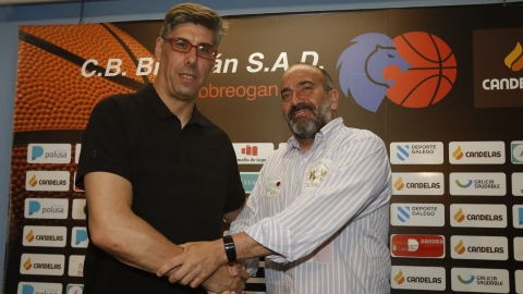 Quique Fraga, director deportivo do CB Breogán